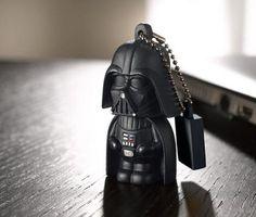 Darth Vader USB Usb Stick, Darth Vader, Human Soul, Portable Charger, Present Gift, Big Star, Lightsaber, Leather Backpack, Star Wars