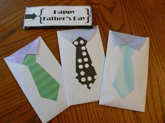 fathers day envelope cards