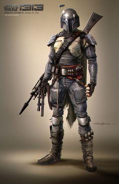 Star Wars - Boba Fett Costume Concept
