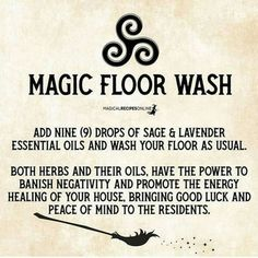keeping a clean house Reiki, Magick Spells, Luck Spells, Real Spells, Magick Book, Kitchen Witchery, Practical Magic, Young Living Oils, Essential Oil Uses