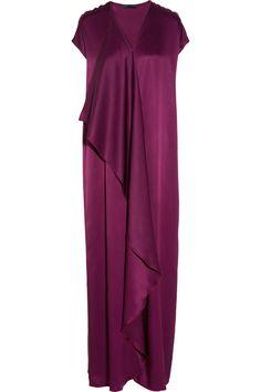 The Row|Priston silk-satin maxi dress