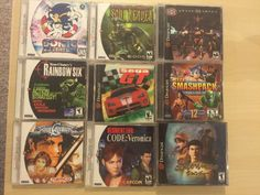 Sega Dreamcast Game Lot #retrogaming #HotDC  9 games with some good titles: Soul Calibur RE Code Veronica Shenmue Sonic Adventure etc. Good price atm.