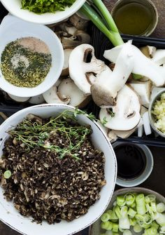 Real Food Ideas: Mushrooms are regarded as medicinal-mix them with fresh ingredients + bone broth for a nourishing, healing soup.  Recipe on the blog! #Soup #Instantpot #Pressurcook #Instapot #Mushrooms #Recipe #Bonebroth