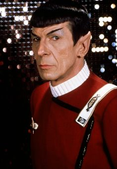 Spock!!! or Lenard Nimoy!!! Who wouldn't want to meet him!!! :)