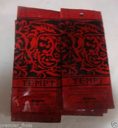 14 tempt Single Use Indoor Tanning Bed Lotion Packets Hot Dark Tanning Maximizer 676280001145 | eBay