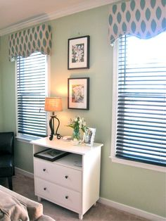 DIY Window Cornices with complete tutorial by Tommie and Ellie