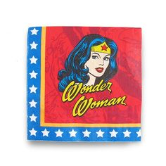 Guardanapos de Papel Wonder Woman Faces