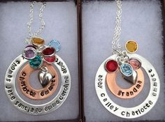 custom hand stamped jewelry Photos & Ideas - By the Lake Designs