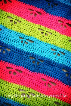 Little Wings Blanket By Amy McC Anderson - Purchased Crochet Pattern - (ravelry)