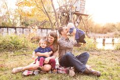 Family Photo Session by the River