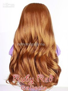Wholesale Doll Doll wigs Doll hair 18 inch doll American doll Ruby Red Doll Clothes Doll Accessories Wavy Auburn Parting Wig for 18 Girl AD0008B, Free shipping, $28.11-30.67/Piece | DHgate