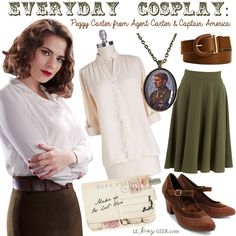 Everyday Cosplay: Peggy Carter
