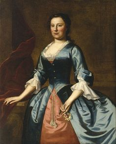 Robert Feke - Portrait of Mrs. Samuel McCall