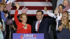 "During a rally Wednesday afternoon in Indianapolis, Texas Sen. Ted Cruz announced that he had selected former Hewlett-Packard CEO and unsuccessful 2016 GOP presidential candidate Carly Fiorina as his running mate.  ""After a great deal of time and thought, after a great deal of consideration and prayer"