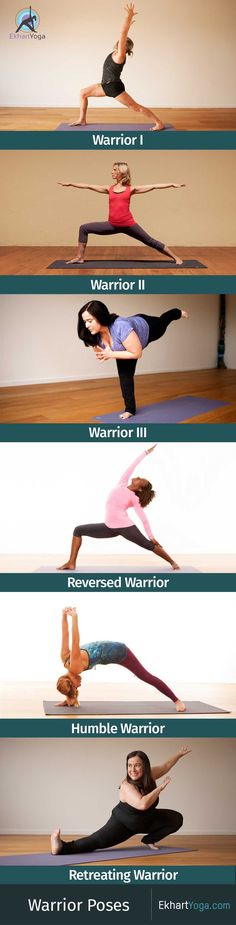 A look at the 5 main variations of Warrior Pose / Virabhadrasana plus Retreating…