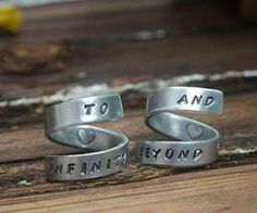 Ow! :3 #ring #infinity #love #cute #beyond #couple #match