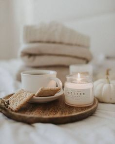 Cozy Aesthetic, Autumn Aesthetic, Beige Aesthetic, Scented Candles, Candle Jars, Aroma Candles, Aromatherapy Candles, Instagram Feed, Autumn Interior