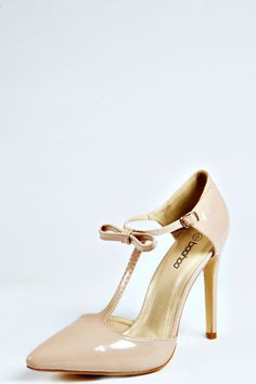 Boohoo Melissa Pointed Heel With Bow Trim on shopstyle.co.uk