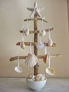 50 Magical DIY Ideas with Sea Shells | Do it yourself ideas and projects #ChristmasDIYcrafts