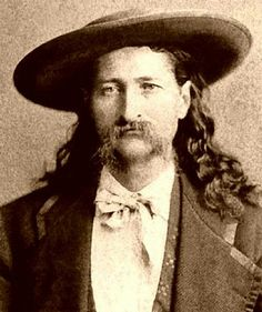 """Wild"" Bill Hickock (May 27, 1837 - August 2, 1876) - Birth name: James Butler Hickok - Birth place: Troy Grove, Illinois - Place of death: Deadwood, South Dakota (at 39 years old)"
