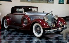 1934 Packard 1101 Convertable