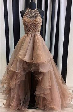 High Low Prom Dress, Prom Dresses,Graduation Party Dresses, Prom Dresses For Teens from BBTrending - Estélyi ruha High Low Prom Dresses, Junior Prom Dresses, Prom Dresses 2018, Modest Prom Gowns, High Low Gown, Princess Prom Dresses, Ball Gowns Prom, Ball Gown Dresses, Dance Dresses