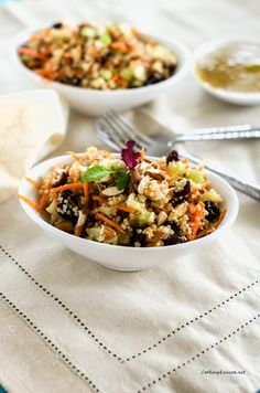 Honey Mustard Quinoa Salad