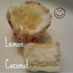 Lemon coconut Smore Cup- like the lemon meringue, only with coconut inside :) Delicious combination!