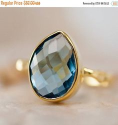 Hey, I found this really awesome Etsy listing at https://www.etsy.com/listing/121270737/london-blue-topaz-ring-december