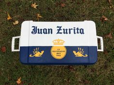 Painted Fraternity Coolers, Frat Coolers, Beach Cooler, Theta Xi, Phi Mu, Kappa Delta, Paddy Murphy, Formal Cooler Ideas