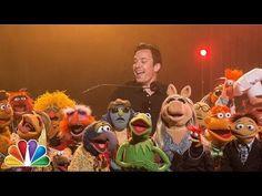 """Jimmy Fallon verabschiedet sich mit The Muppets und """"The Weight"""" von """"The Last Waltz"""""""