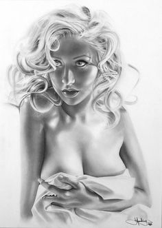 Graphite Drawing by John Harding