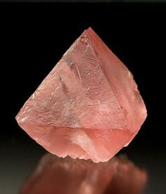 Pink Fluorite - cleanses and heals the emotional body and works to activate the 'high heart' chakra
