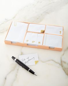 Kate Spade New York | Sticky Note Set, Gold
