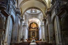 Interior de la Iglesia Convento de Santo Domingo (A Coruña - Spain)