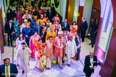 Indian groom on his way to the wedding ceremony http://www.maharaniweddings.com/gallery/photo/133035