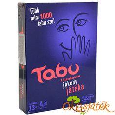 Tabu társasjáték az egész családnak vagy baráti társaságnak! Húzz egy kártyát, írdd körül a kártyán szereplő szót, amit csapattársaidnak kell kitalálni. De vigyázz, nem használhatod a megadott szavakat. Amennyiben kimondod a tiltott, tabu szót, ellenfeleid megnyomják a dudát, és az a kártya többé nem érvényes. Ha sikerül kitalálni a szót, előreléphettek a játékmezőn! Legyen a Te csapatod a leggyorsabb a Tabu társasjátékban, és nyerjétek meg a játékot. A Tabu társasjáték tartalma: 1 db kocka… Tabu, Fisher Price, Lego, Cover, Books, Products, Livros, Libros, Livres