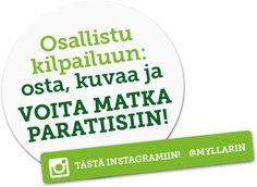 Osallistu kuva kilpailuun ja voita matka Paratiisiin. Osallistumisaika on 1.9.16 – 30.11.16. http://www.myllarin.fi/paratiisi/
