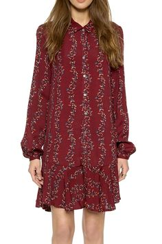 Free People Red Long Sleeve Bohemian Printed Buttondown Shirt Medium Dress. Free shipping and guaranteed authenticity on Free People Red Long Sleeve Bohemian Printed Buttondown Shirt Medium DressFree People Printed Long Sleeve Dress  Size Med...