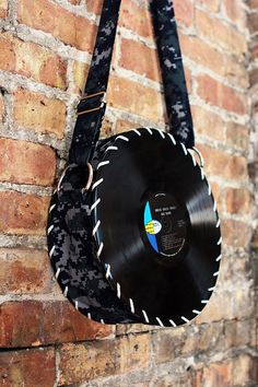 Digital vinyl record bag