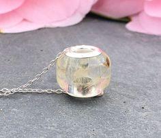 Charm bracelet bead european bead dandelion bead dandelion