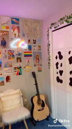 Indie Bedroom, Indie Room Decor, Cute Room Decor, Aesthetic Room Decor, Aesthetic Indie, Diy Bedroom Decor For Teens, Teen Bedroom Designs, Teen Room Decor, Room Ideas Bedroom