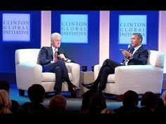 President Obama and President Clinton Discuss Health Care:  President Obama joins former President Bill Clinton for a conversation about health care in the United States and around the world as part of the Clinton Global Initiative Annual Meeting. September 24, 2013.