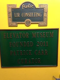 New York Adventure Club had a private tour of the Elevator Museum in Long Island City