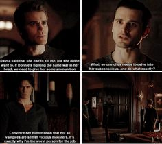 """#TVD 7x21 """"Requiem for a Dream"""" - Stefan, Damon and Enzo"""