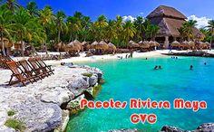 Pacotes promocionais para Riviera Maya Cancún CVC #cancun #viagem #pacotes #rivieramaya