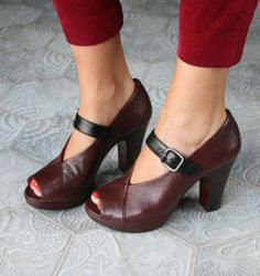 Chie mihara shoes are very pretty, and they always fit. And yes, they are a bit pricy.