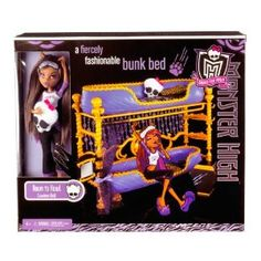 Monster High Dead Tired Clawdeen Wolf Doll And Bed Playset Monster High Beds, Monster High Crafts, Monster High Dolls, Monster High Pictures, Barbie Doll Set, Monster High Characters, Adrien Y Marinette, Mini Fridge, Barbie Accessories