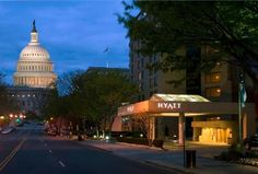 Our hotel in DC - Hyatt Regency Washington on Capitol Hill we stayed in this hotel on our 9th grade FBLA Trip