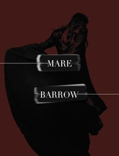Maven Calore #MareBarrow #TheRedQueen